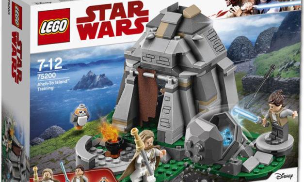 Revelados nuevos sets de LEGO Star Wars para 2018
