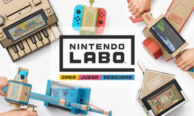 Nintendo LABO: Construcción a base de cartón