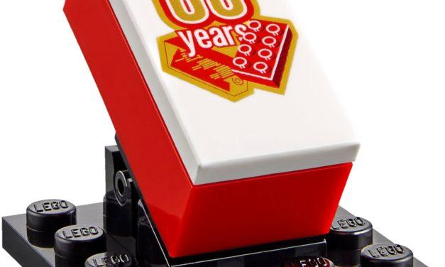 El primer bloque LEGO cumple hoy 60 años